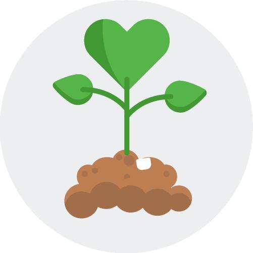 Green Giving lad preservation logo